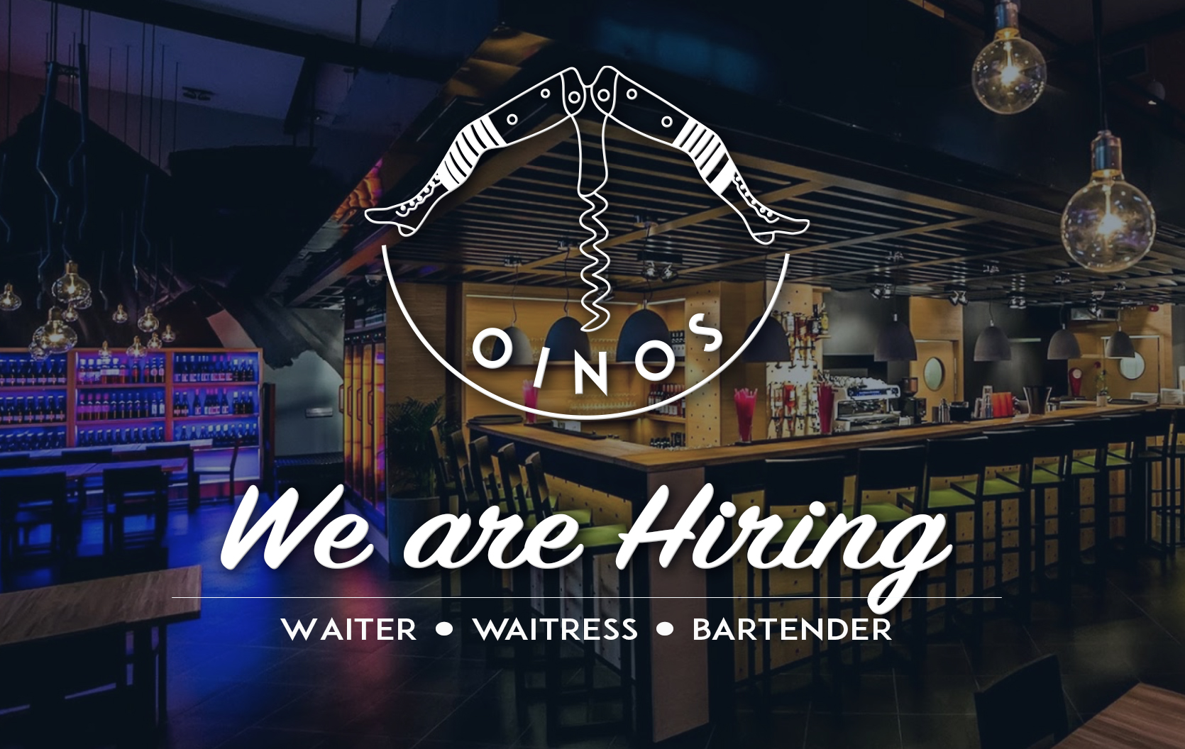 Job offer - Wine bar bistro Budapest